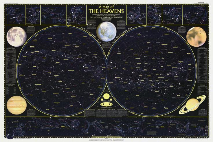 a map of heavens