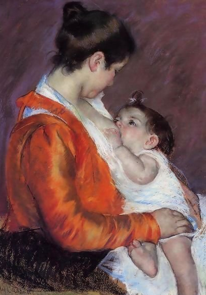 Louise-Nursing-Her-Child
