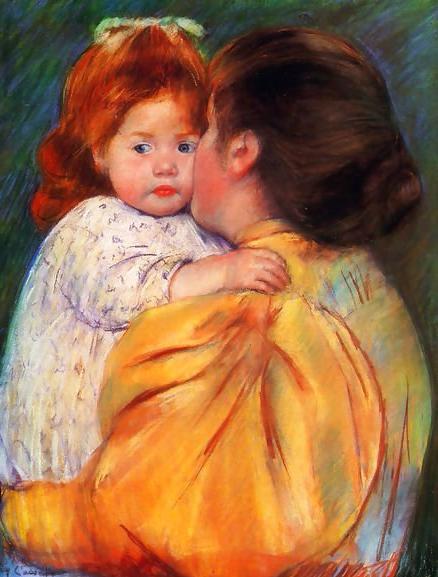 Maternal-Kiss