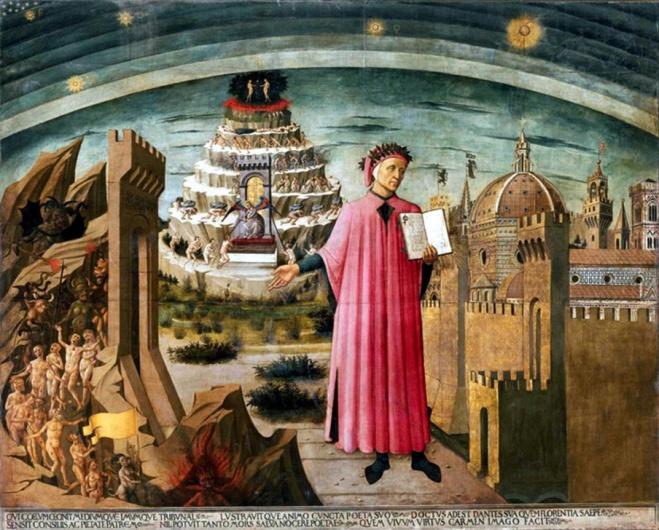The-Painting-La-Commedia-illumina-Firenze