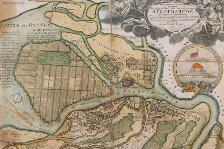 map-of-st-petersburg-in-the-1720s-by-johann-homann