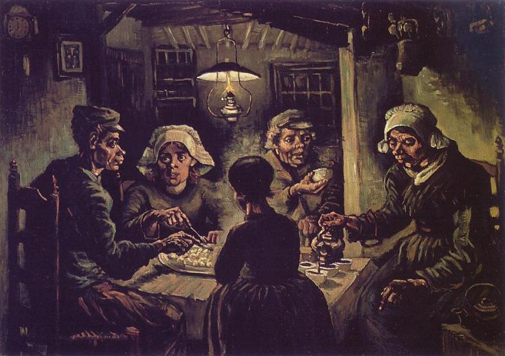 the-potato-eaters