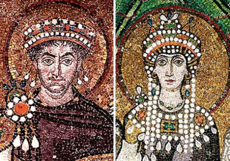 Theodora-ve-Jüstinyen