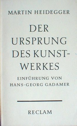 The_Origin_of_the_Work_of_Art_(German_edition)