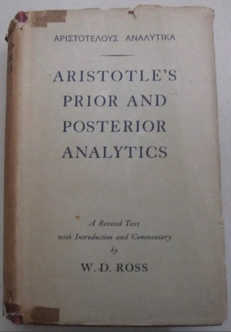 aristo - analitikler