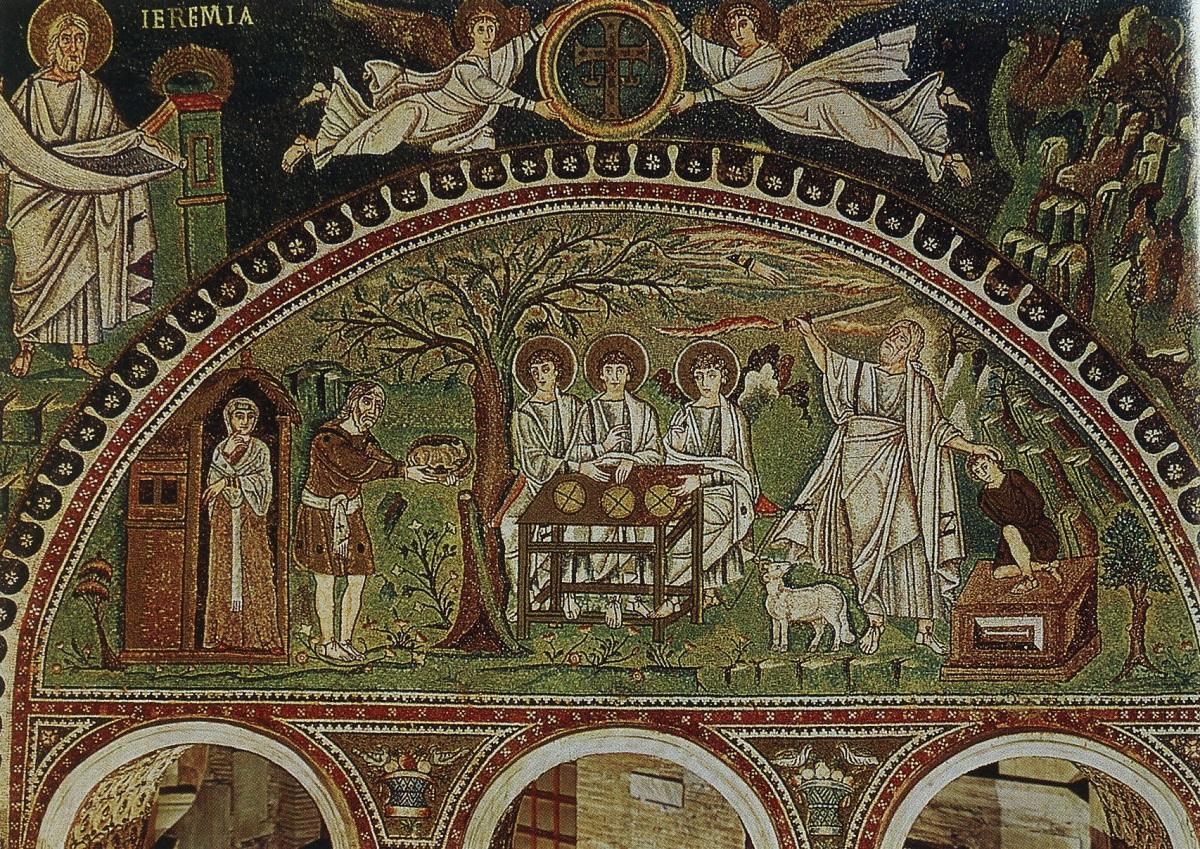 İbrahim, Üç Melek ve İshak'ın Kurban Edilişi