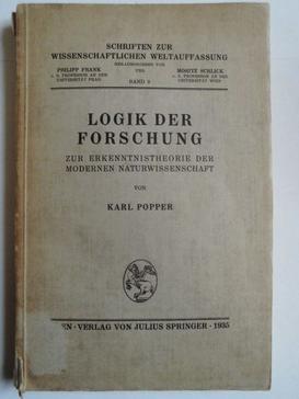 poper - bilimsel araştırmanın mantığı