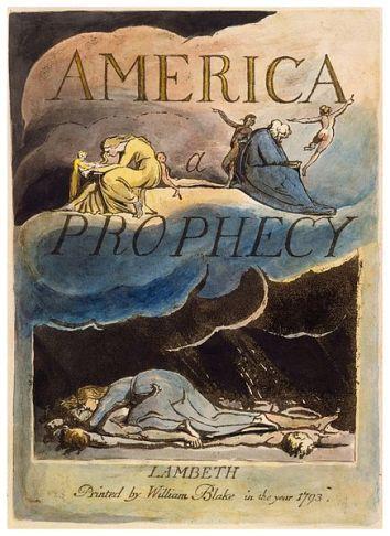 William blake - America a Prophecy
