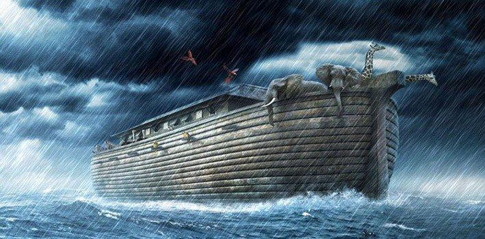 nuh tufanı görsel